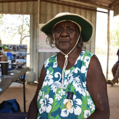 Cherry Wulumirr Daniels OAM founded the Yugul Mangi Women Rangers in Ngukurr 15 years ago