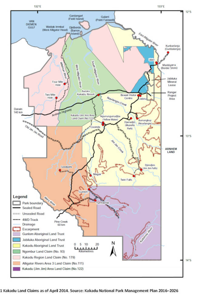 Map Of Australia Kakadu National Park.Nlc Welcomes Amendment To Nlc Land Rights Act Northern Land Council